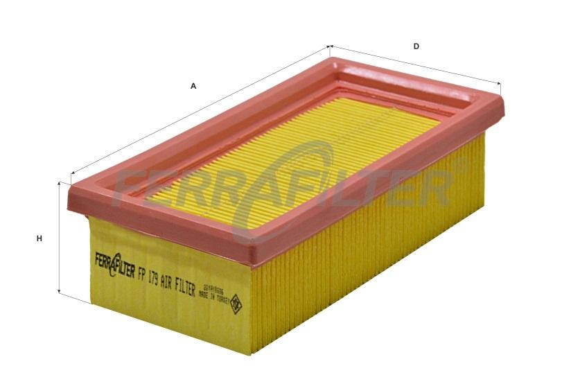 Mecafilter ELP3276 Mecafilter Filtro Aria